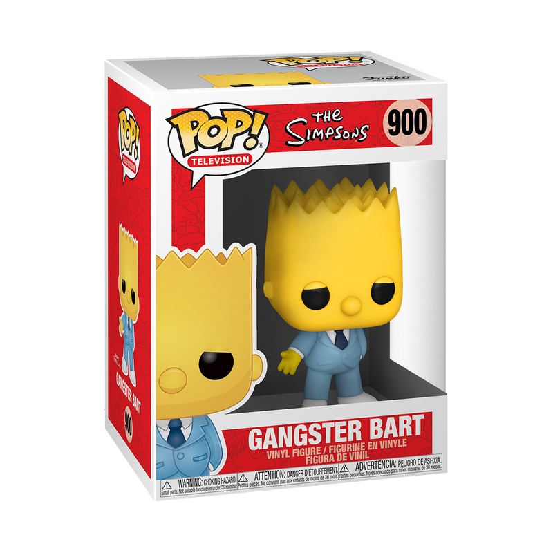 GANGSTER BART - THE SIMPSONS
