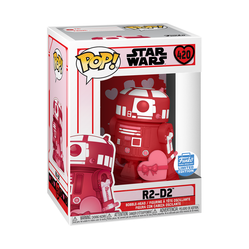 R2D2 (VALENTINES EDITION) - STAR WARS