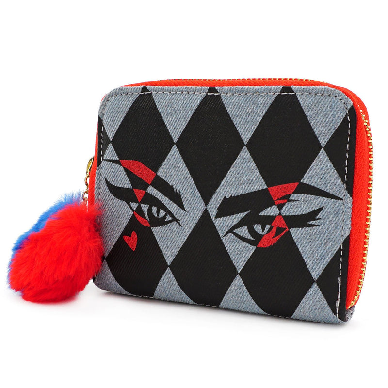 HARLEY EYES ZIP AROUND WALLET-BIRDS OF PREY