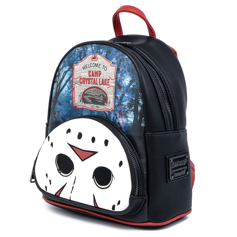 JASON CAMP CRYSTAL LAKE MINI BACKPACK - FRIDAY THE 13TH