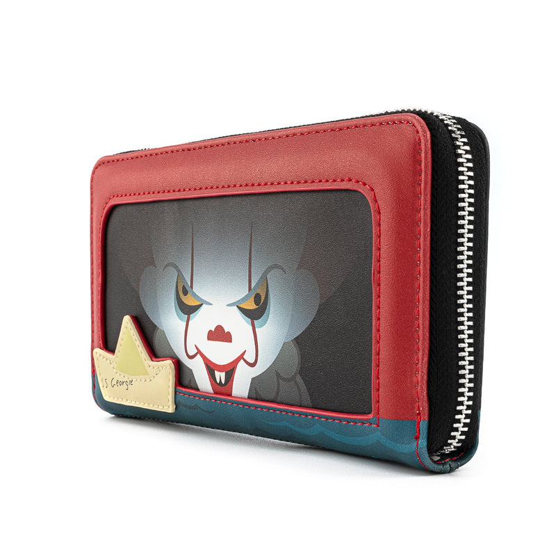 PENNYWISE SEWER SCENE ZIP AROUND WALLET - IT