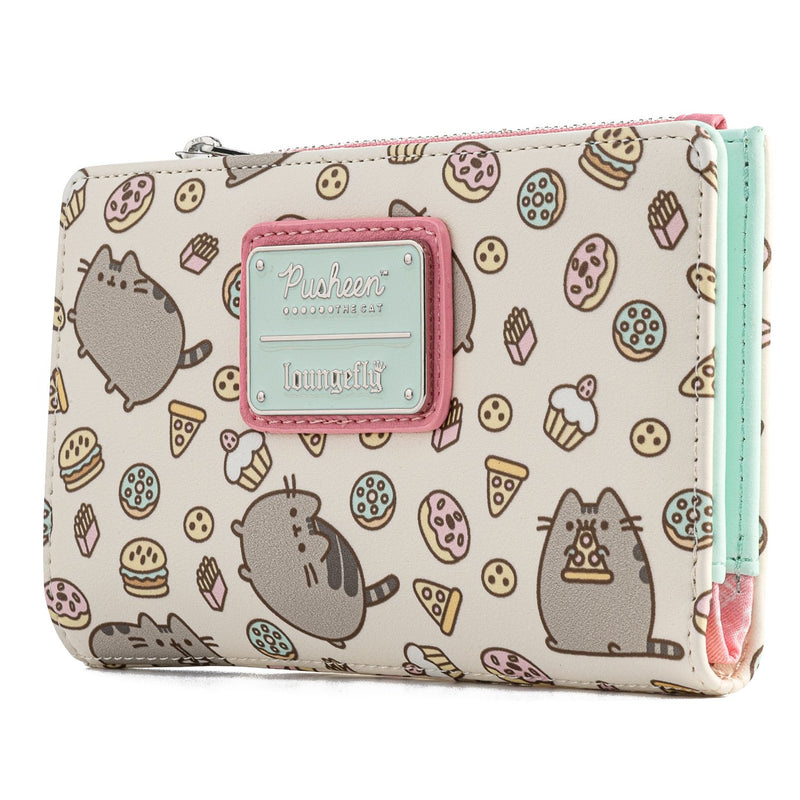 PUSHEEN SNACKIES PRINTED WALLET - PUSHEEN THE CAT