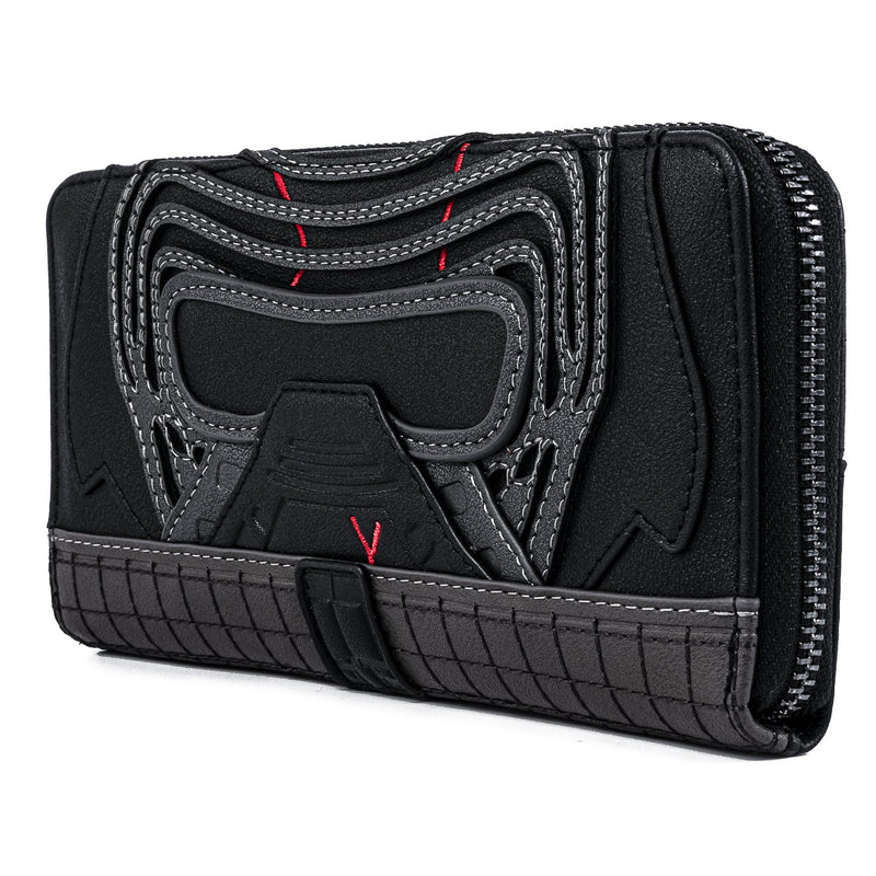 KYLO REN ZIP AROUND WALLET - STAR WARS: THE RISE OF SKYWALKER