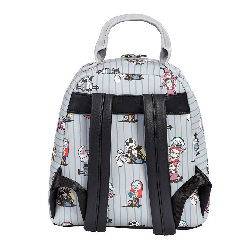 THE NIGHTMARE BEFORE CHRISTMAS CHARACTER PRINT MINI BACKPACK