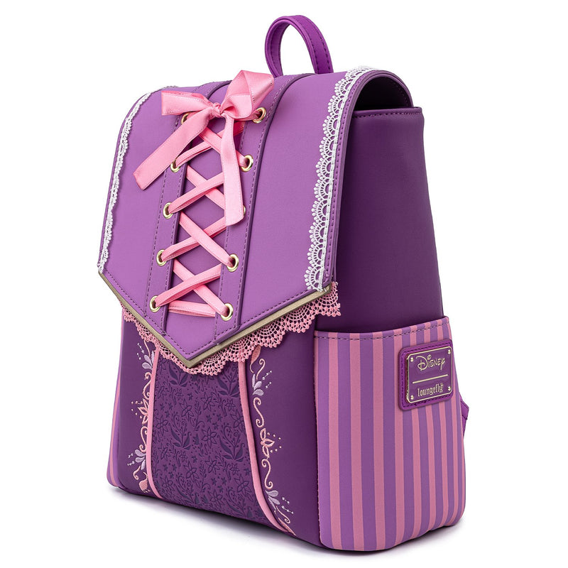 RAPUZEL DRESS COSPLAY MINI BACKPACK - TANGLED