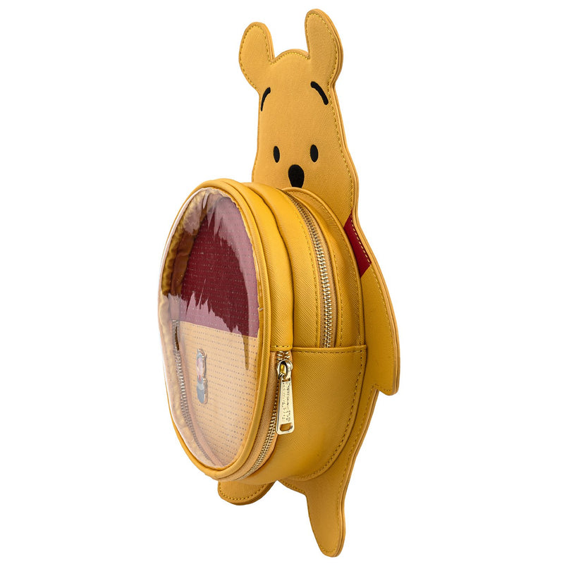 WINNIE THE POOH PIN TRADER BACKPACK (WITH PIN) - DISNEY