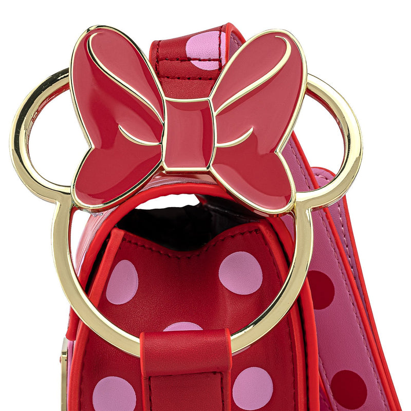 MINNIE MOUSE DOTS AOP BOW CROSSBODY - DISNEY