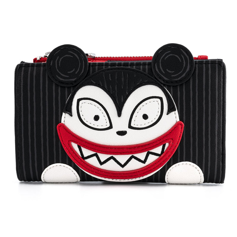 SCARY TEDDY AND UNDEAD DUCK BI-FOLD WALLET - THE NIGHTMARE BEFORE CHRISTMAS