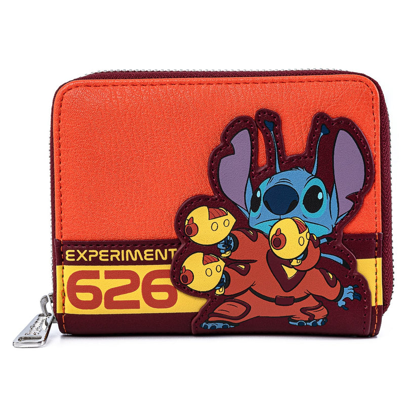 STITCH EXPERIMENT 626 ZIP AROUND WALLET - LILO AND STITCH