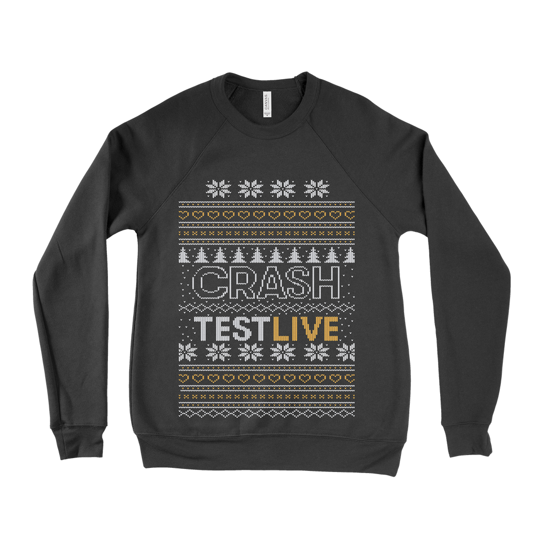 Crash Test Live Christmas Sweater