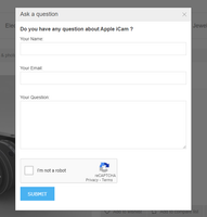 Ask a question plugin