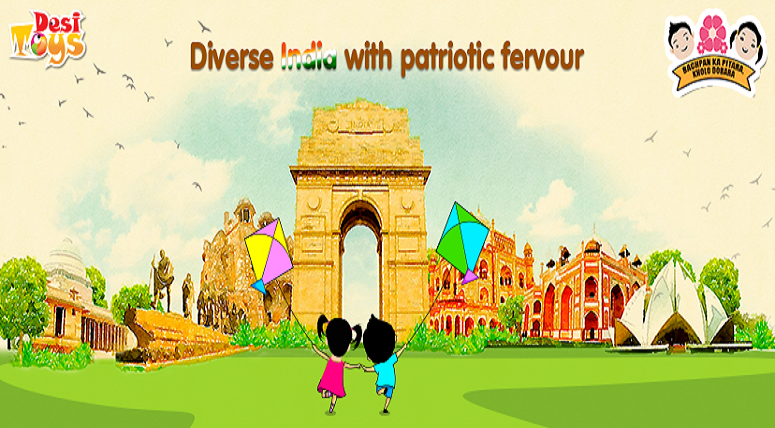 5 Reasons to be Indian and Play Indian Toys with your Kids on This Republic Day