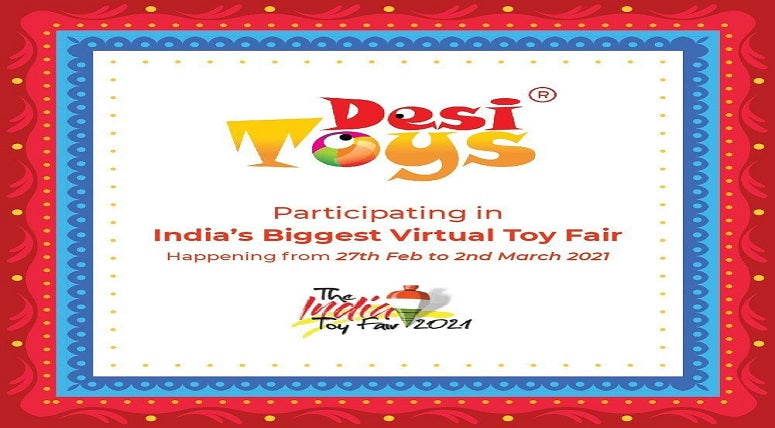 'Desi Toys' at 'The India Toys Fair 2021'