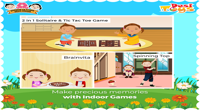 Introducing the most effective traditional indoor games for your kids