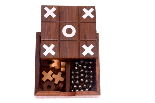 2 in 1 Solitaire & Tic Tac Toe Game