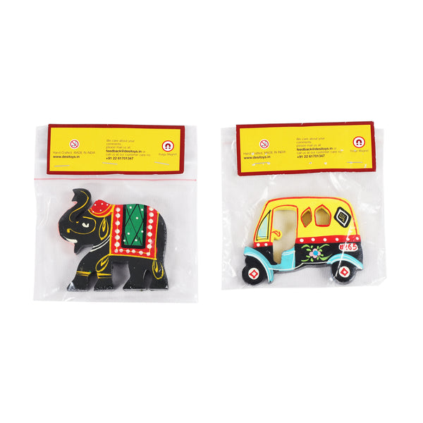 Fridge Magnets Handpainted, Fridge Chumbak Pack of 2