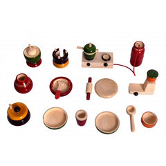 Kitchen Set in Wood