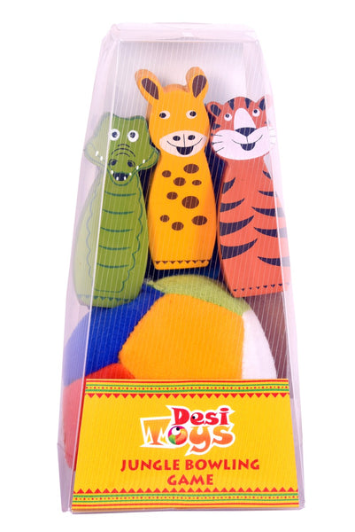 Desi Toys Jungle Bowling Game