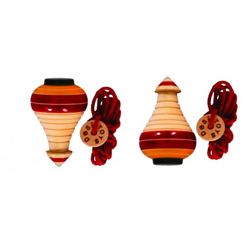 Spinning tops Pack of 2, Lattu Pack of 2
