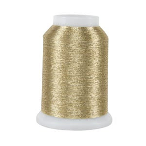 002 Light Gold Metallic Thread