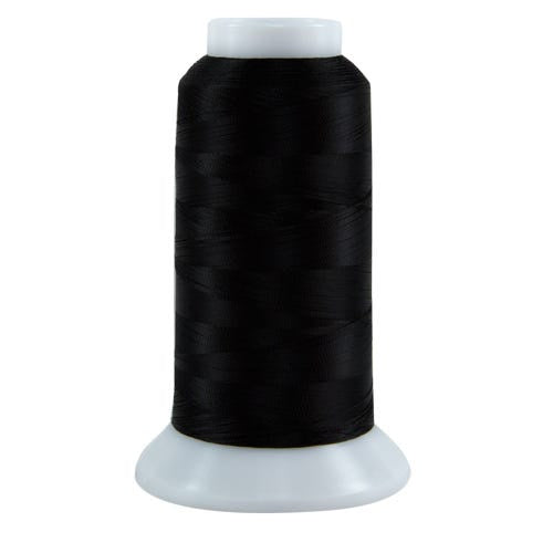 625 Black Bottom Line Polyester Thread