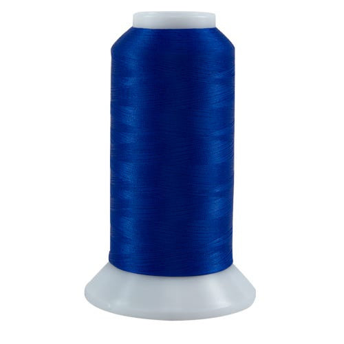636 Bright Blue Bottom Line Polyester Thread