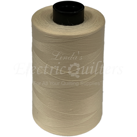 W32186 Dyed Natural Permacore Tex 30 Polyester Thread