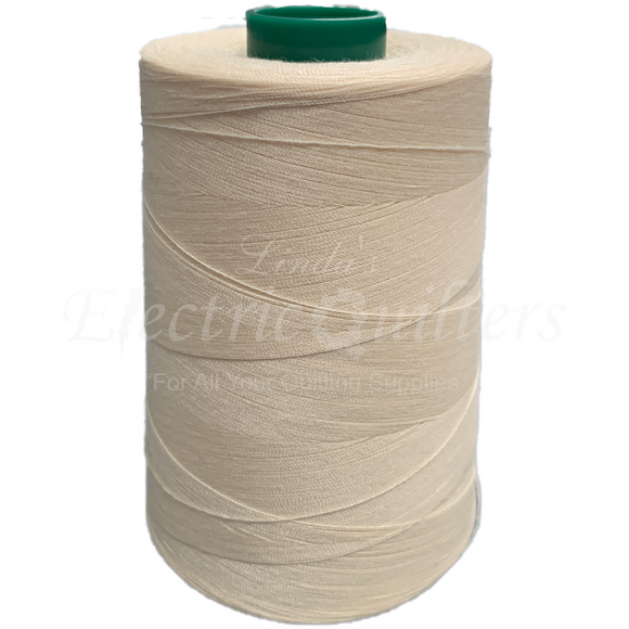 W32186 Dyed Natural Permacore Tex 40 Polyester Thread