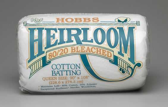 Hobbs Heirloom Bleached 80/20 Batting Case