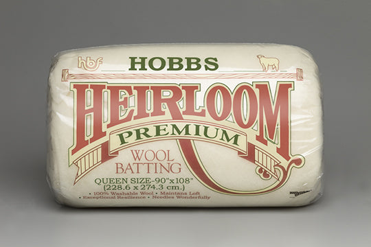 Hobbs Heirloom Wool Batting Case