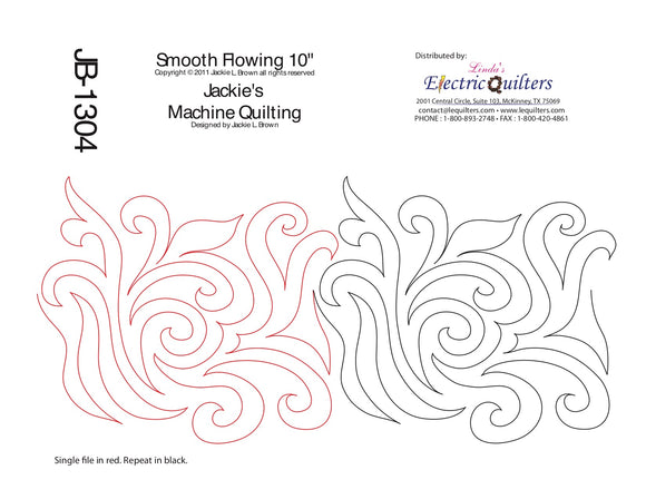 1304 Smooth Flowing Pantograph by Jackie Brown