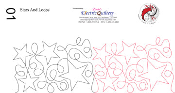 001 Stars and Loops Pantograph by Linda V. Taylor