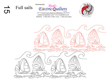 015 Full Sails Pantograph by Linda V. Taylor