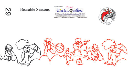 029 Bearable Seasons Pantograph by Linda V. Taylor