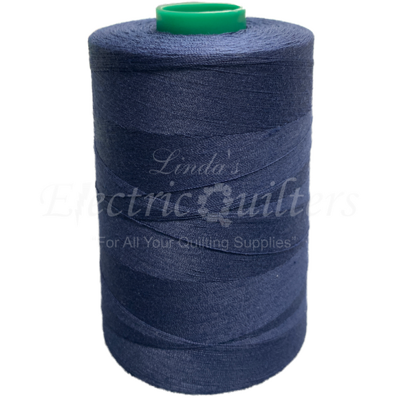 W32737 Navy #1 Permacore Tex 40 Polyester Thread