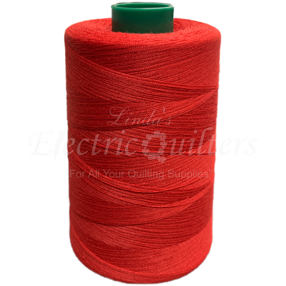 W32744 Red Permacore Tex 40 Polyester Thread