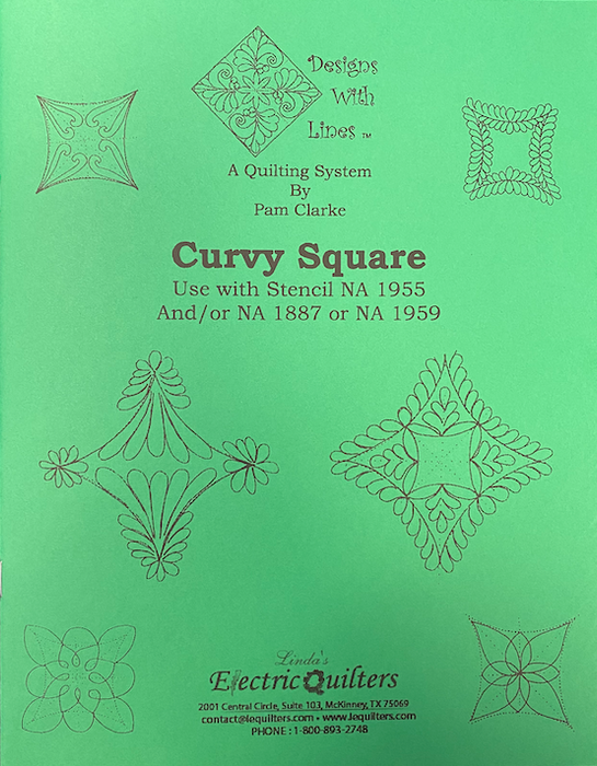 1955 Curvy Square Book