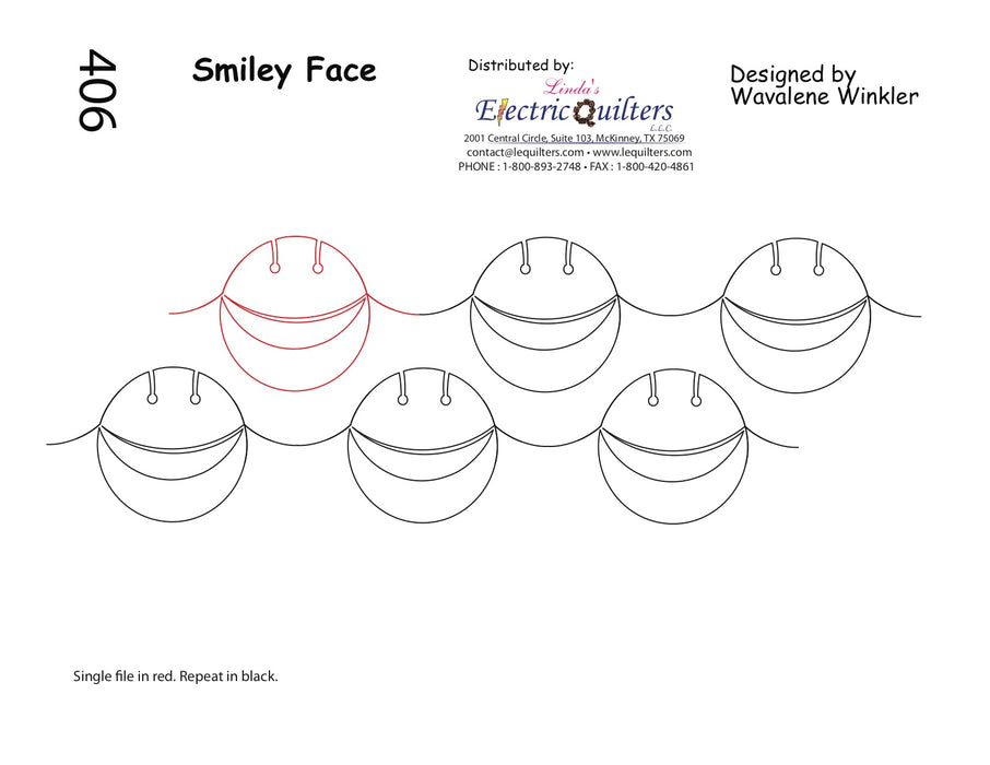 406 Smiley Face Pantograph by Wavalene