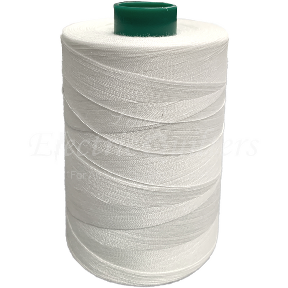 W32001 White Permacore Tex 40 Polyester Thread