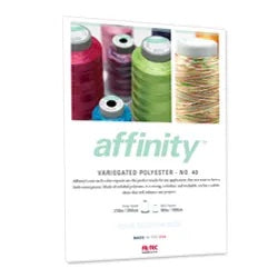 Affinity Thread Color Card