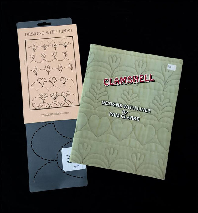 Clamshell Book and Stencil Kit