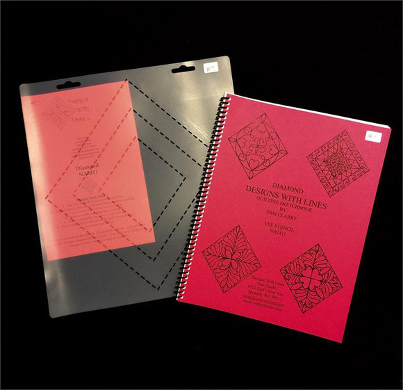 Diamond Book and Stencil Kit