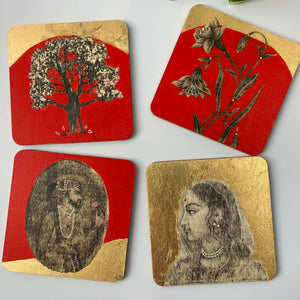 Coaster 06_Raja Rani Coasters_Set of 4 Coasters