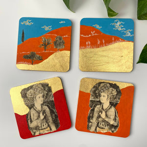 Coaster 07_Persian Prince_Set of 4 Coasters