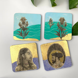 Coaster 05_RoyalTea _ Set of 4 Coasters