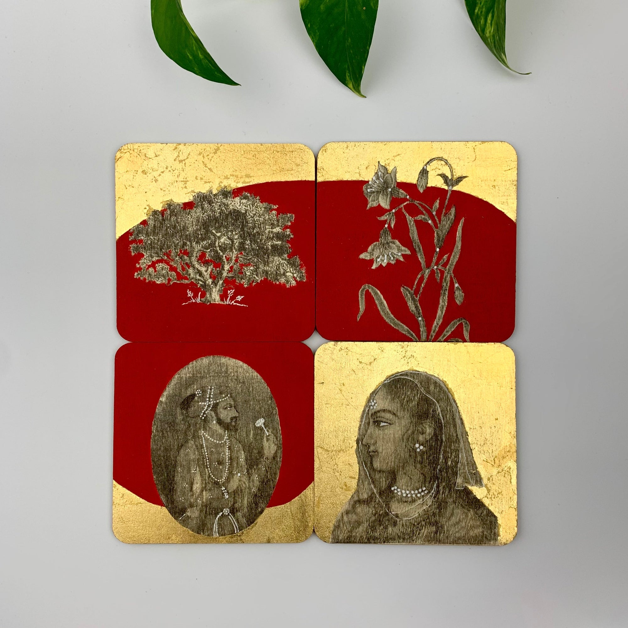 Coaster 13_Raja Rani II _Set of 4 Coasters