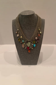 Semi Precious Stones Galore Necklace