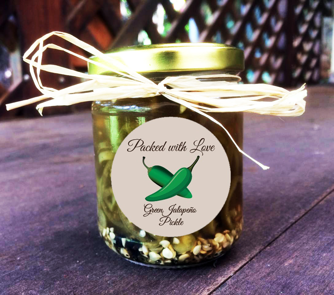 Green Jalapeno Pickle