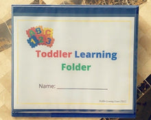 Load image into Gallery viewer, TLC Learning Folder for Kids