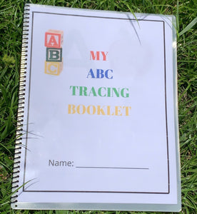 ABC Tracing Booklet